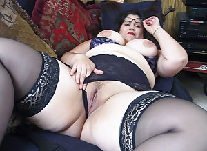 Mature BBWs in stockings XIV