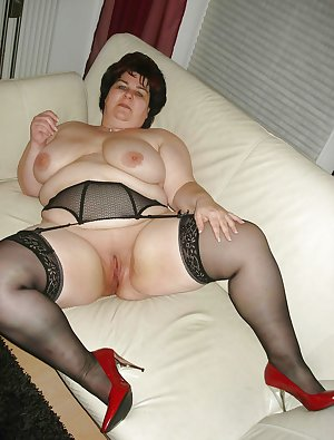 Mature BBWs in stockings 23