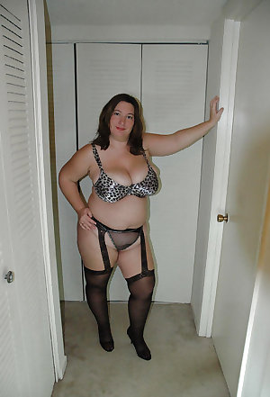 Mature BBWs in stockings 23