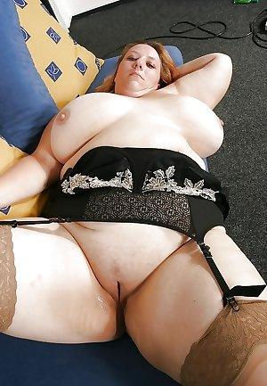 Mature BBWs in stockings 31