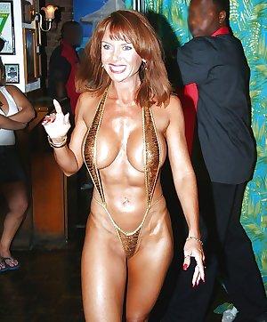 Mature women in bikinis