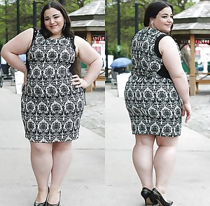 Candid and Clothed BBW and Matures