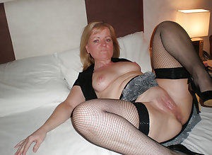 Horny matures in stockings 22