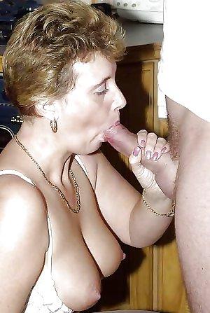 matures sucking cock