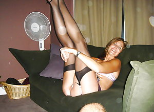 Mature amateur ladies 8-pix mix.