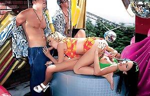 SEXy MATURE, MILF COUGAR LADIES CUM DURING DP AT ORGIES 58